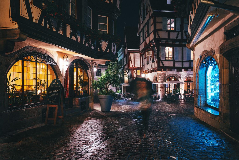 Night Photography Motion Blur