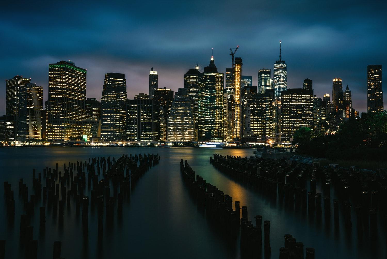 NYC Skyline and Lightroom Presets | Night - Presetpro.com