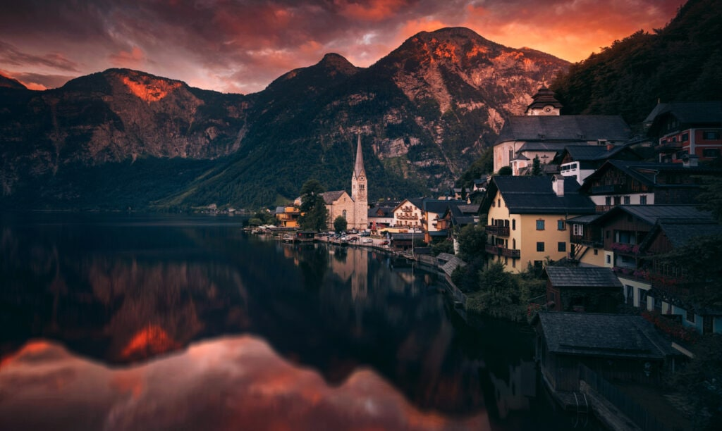Photography | Picturesque Sunset in Austria