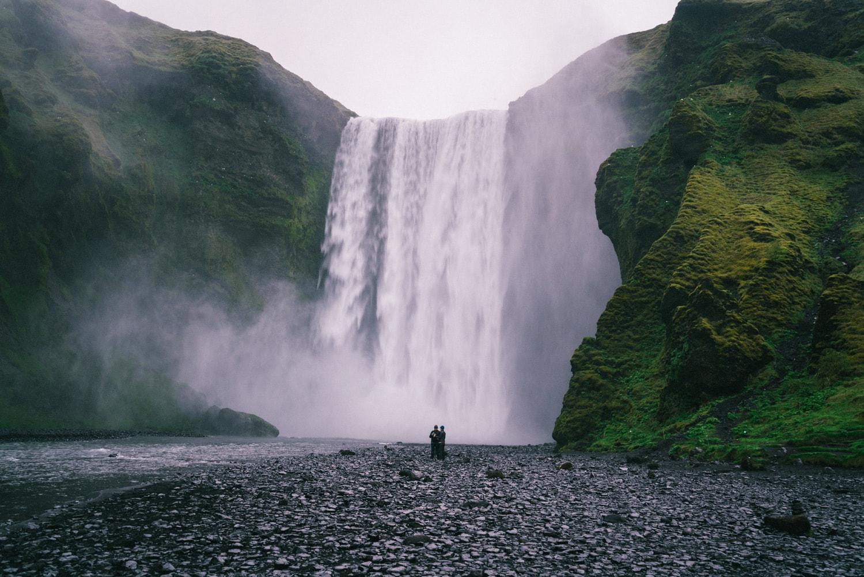 Travel Iceland Skogafoss